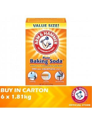 Arm & Hammer Pure Baking Soda 6 x 1.81kg