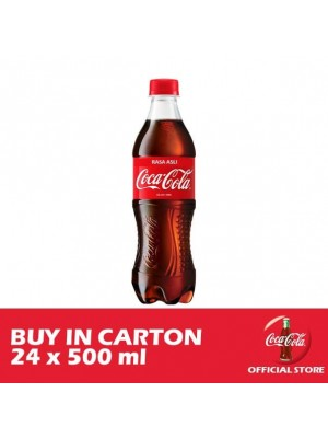 Coca-Cola Rasa Asli 24 x 500ml
