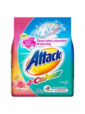 Attack Powder Detergent Concentrate Colour Ultra (ATC) 1.6kg [MCO 2.0]