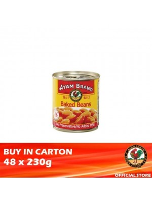 Ayam Brand Baked Beans  in Tomato Sauce 48 x 230g