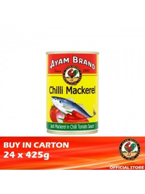 Ayam Brand Chilli Mackerel 24 x 425g [Essential]