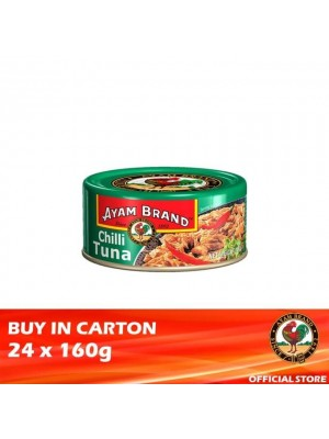 Ayam Brand Chilli Tuna 24 x 160g [Essential]