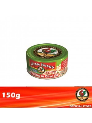Ayam Brand Classic Spicy Tuna Flakes in Olive Oil 150g [Essential]