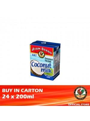 Ayam Brand Coconut Milk 24 x 200ml