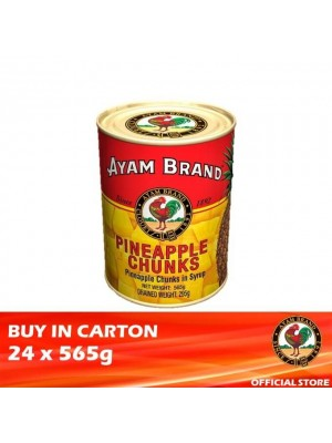 Ayam Brand Pineapple Chunks in Syrup 24 x 565g