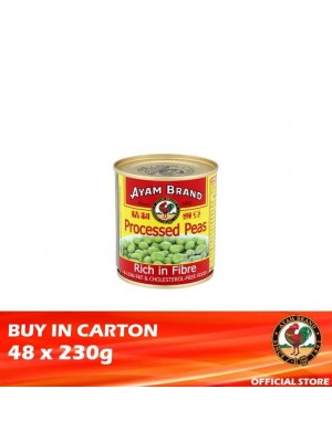 Ayam Brand Processed Peas 48 x 230g