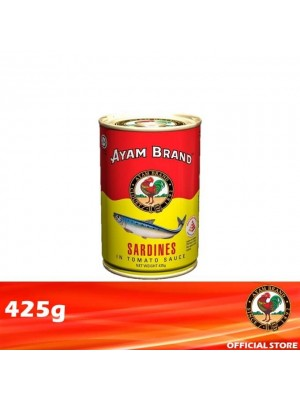 Ayam Brand Sardines in Tomato Sauce - Talls 425g [Essential]