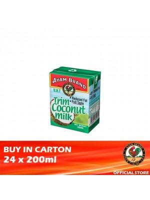 Ayam Brand Trim Coconut Milk 24 x 200ml