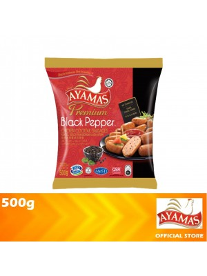 Ayamas Chicken Cocktail Black Pepper Sausages 500g