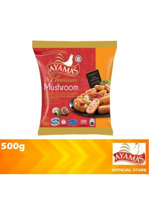 Ayamas Chicken Cocktail Mushroom Sausages 500g