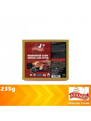 Ayamas Chicken Frankfurters Black Pepper 235g