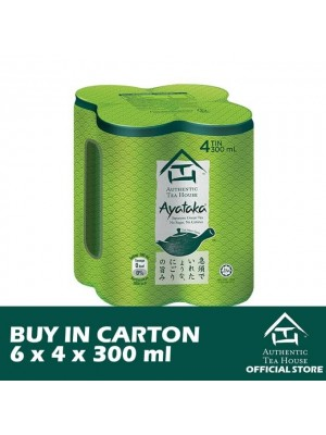 Authentic Tea House AYATAKA 6 x 4 x 300ml