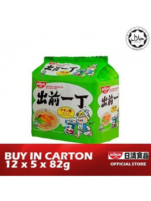 Nissin Noodles Bag - Chicken 12 x 5 x 82g [HALAL] [Essential]