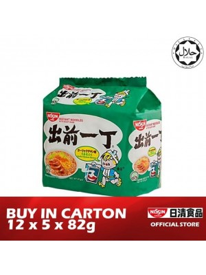 Nissin Noodles Bag - Garlic Chicken 12 x 5 x 82g [HALAL]