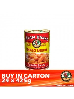 Ayam Brand Baked Beans in Tomato Sauce - Tall  24 x 425g [Essential]