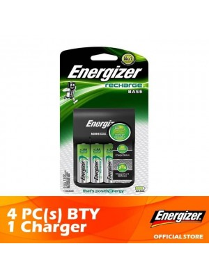 Energizer Base Charger + AA 1300mAh 4pcs x 1 Set