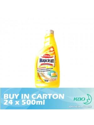 Magiclean Bathroom Cleaner - Lemon Refill 24 x 500ml