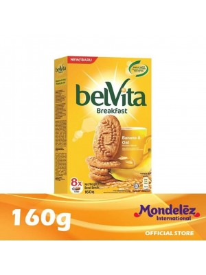 Belvita Banana & Oat 160g [Essential]