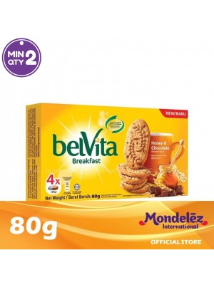 Belvita Honey and Chocolate 80g