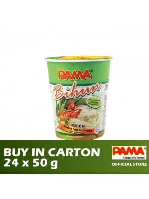 Pama Instant Bihun Cup Clear Soup Flavour 24 x 50g