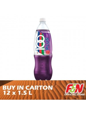 F&N 100 Plus Blackcurrant Pet 12 x 1.5L