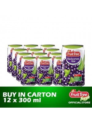 Fruit Tree Blackcurrant Aloe 12 x 300ml