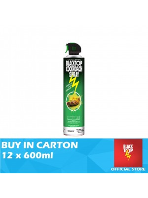 Blacktop Crawling Insect Killer 12 x 600ml