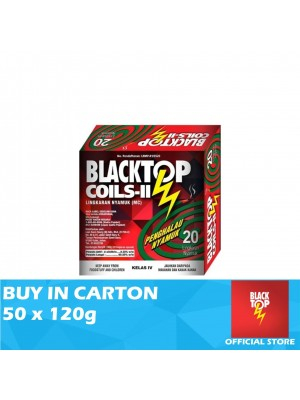 Blacktop Mosquito Coil II Twin Pack 50 x 120g