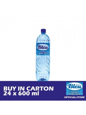 Bleu Mineral Water - 24  x 600ml