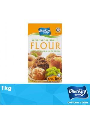 Blue Key Superfine Superwhite Flour 1kg