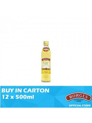 Borges Olive Oil Extra Light 12 x 500ml