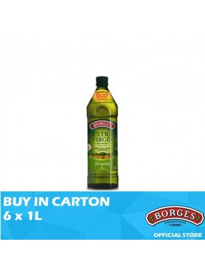 Borges Olive Oil Extra Virgin 6 x 1L
