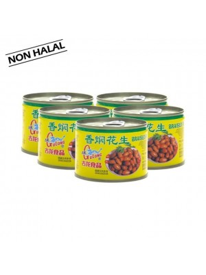 Gulong Braised Peanuts 5x170g [NON HALAL] [Essential]