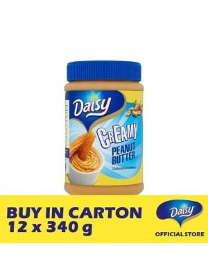 Daisy Bread Spread Peanut - Creamy 12 x 340g