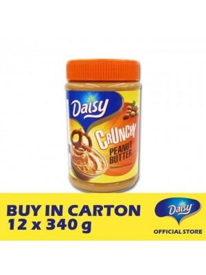 Daisy Bread Spread Peanut - Crunchy 12 x 340g