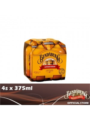 Bundaberg Ginger Beer 4s x 375ml
