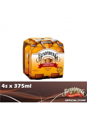 Bundaberg Ginger Beer Diet 4s x 375ml