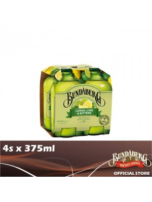 Bundaberg Lemon Lime & Bitter 4s x 375ml