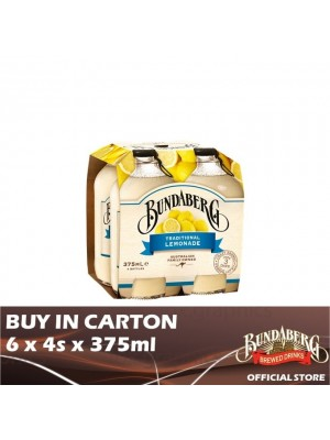Bundaberg Lemonade 6 x 4s x 375ml