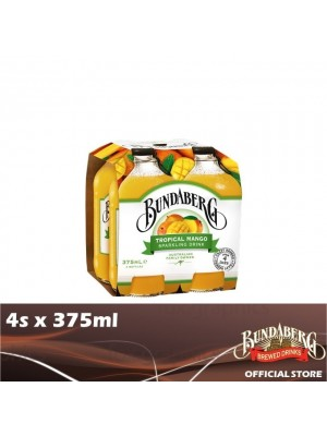 Bundaberg Tropical Mango 4s x 375ml