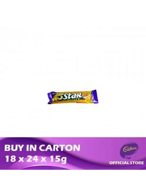 Cadbury 5 Star 18 x 24 x 15g