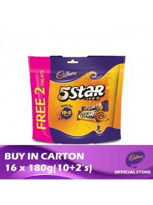 Cadbury 5 Star Doybag (10+2's) 16 x 180g