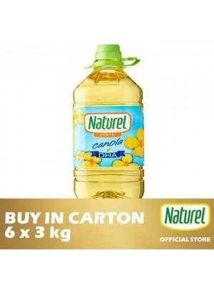 Naturel Pure Canola Oil 6 x 3kg