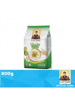 Captain Oat Rolled Oats - Foil Pack 800g (EXP : 10/2021) [MUST BUY]