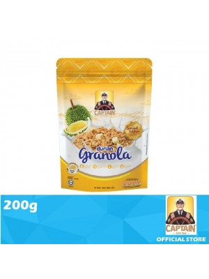 Captain Oats Granola Durian 200g