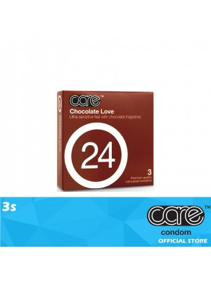 Care 24 Chocolate Love Condom 3s