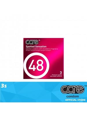 Care 48 Spotted Sensation Condom 3s