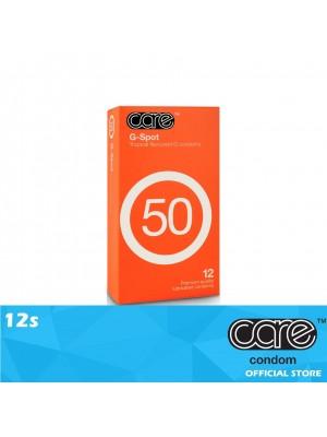 Care 50 G-Spot Condom 12s