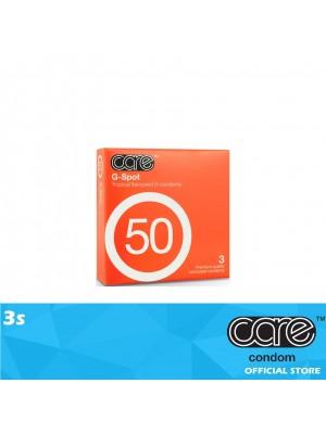 Care 50 G-Spot Condom 3s