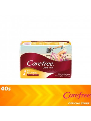 Carefree Ultra Thin Scented 40s